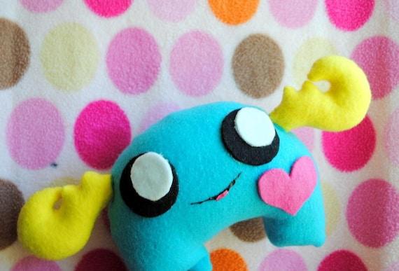 Moosey - Cute Plush Antlered Monster