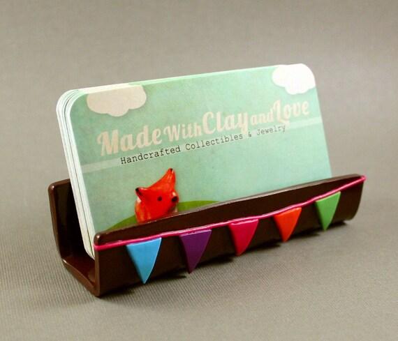 Reserved For Rachel - Balance For Custom Designed Business Card Holder