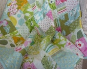 Sweet Baby Blocks Quilt  PDF PATTERN Perfect for first time quilters and a great  scrap buster