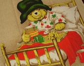 Vintage Tea Towel Paddington Bear 1976 Film Festival