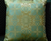 Cushion Covers from Vintage Fabric Set of Two  Reserved for 701dma