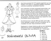 Farbenmix Sewing Pattern OLIVIA