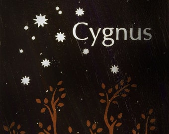 Cygnus - Constellation Postcard Print