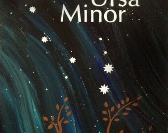 Ursa Minor - Little Dipper Constellation Postcard Print
