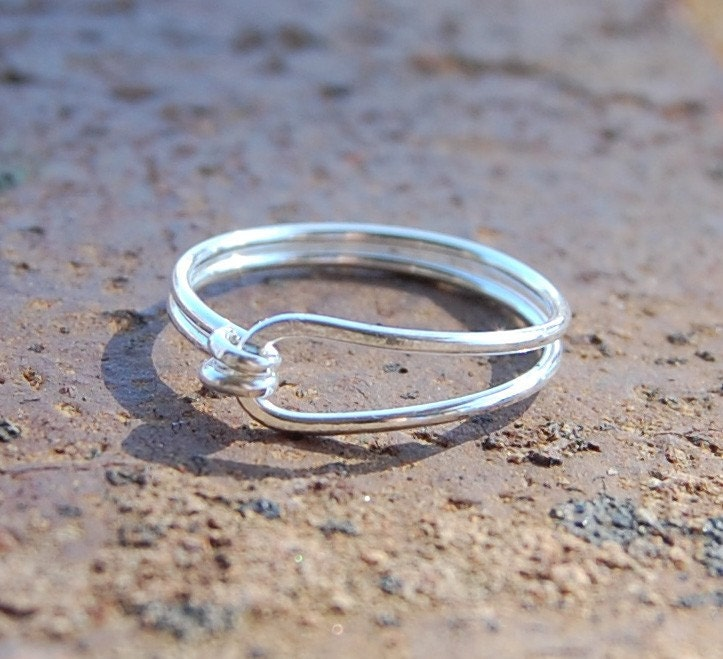 Sterling. Silver. Simple. Ring.