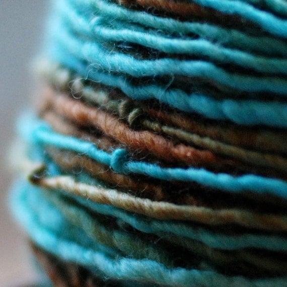 Little Bird - 136 yards bulky BFL handspun yarn