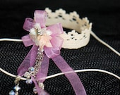 Lace Coronet Crown - Flower jewelry (CC12) for BJD