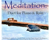 Soothing Relaxation MP3 Calming Meditation Piano and Rain