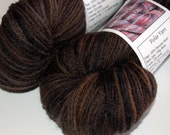 Burnt Grounds  - POLAR - Peruvian Wool Hand Dyed Worsted Weight Yarn -