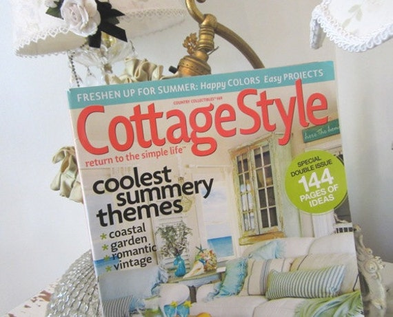 cottage style summer 2012 home decor magazine shabby. Black Bedroom Furniture Sets. Home Design Ideas