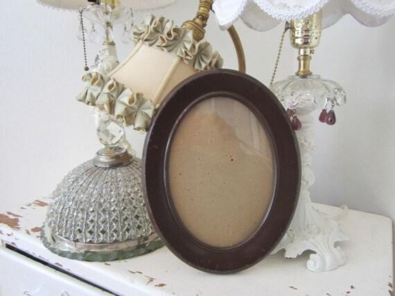 Vintage Frame - Oval - Metal
