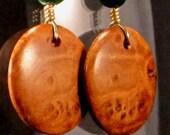 ER-64- Maple Burled Earrings