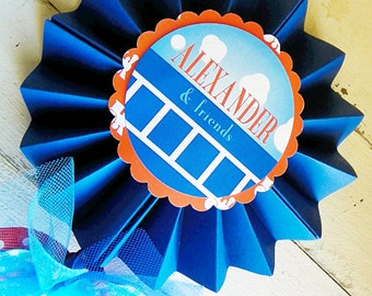 Train Centerpiece Pinwheel...1 Pinwheel