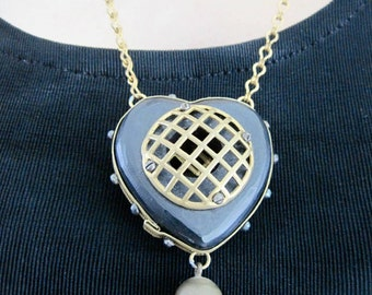 PRISONER OF LOVE Vintage Necklace from Basia's Private Collection