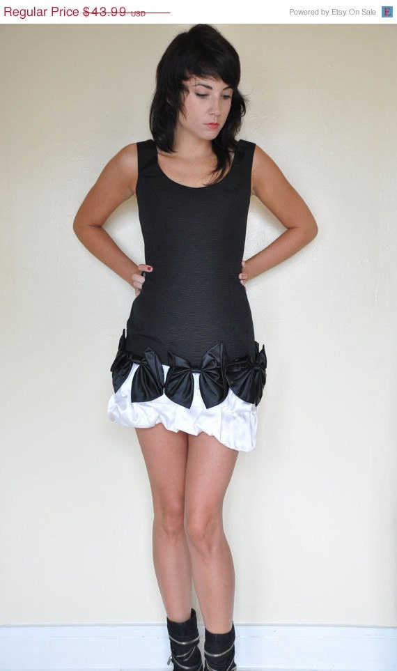 Moving sale vintage black cocktail dress tight short and sexy black