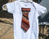 Baby Halloween onesie with tie, Trick or Treat 12mo
