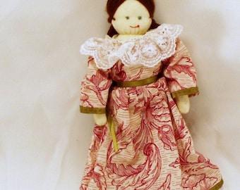 "Emma . . . 10"" HANDMADE cloth doll"
