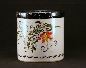 hand-painted (RRP Co) country crock . . .