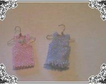 Pattern for  Miniature Beaded Wardrobe Set 3 PDF