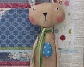 RESERVED FOR LINDA Bunny Rabbit Art Doll