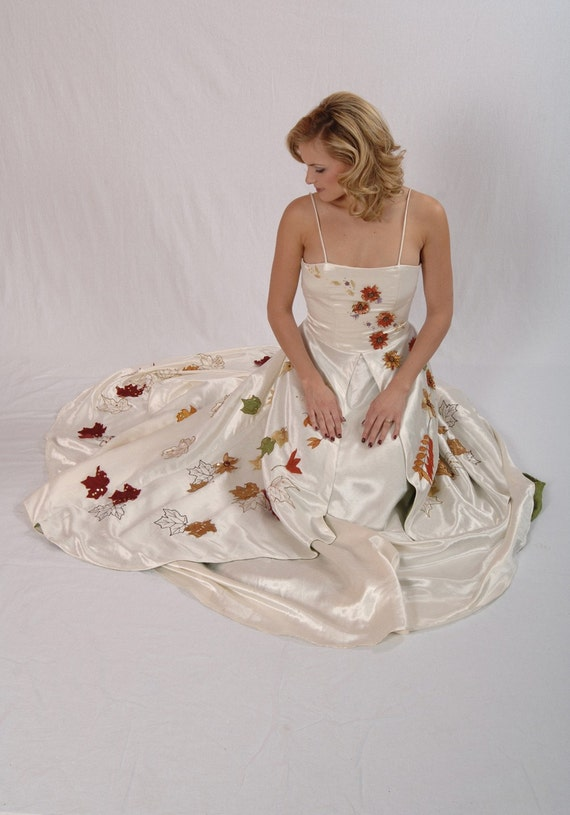 Hemp Silk Wedding Dress
