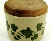Collectable Robinson Ransbottom Pottery Crock with Lid