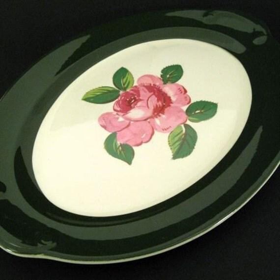 Christmas Sale----Oval Vintage  Platter - Taylor Smith & Taylor