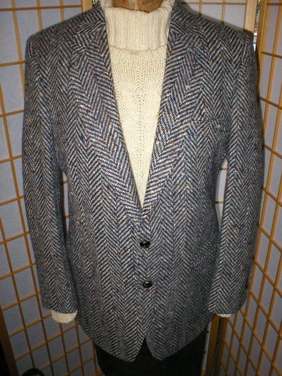 Vintage Men S Irish Wool Tweed Sport Coat By Gerrard