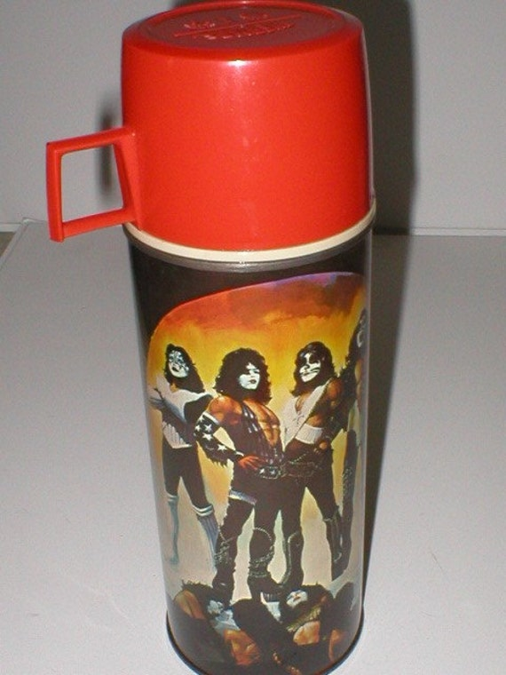 KISS Rock n' Roll band Collectible vintage Thermos
