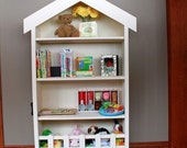 Cottage Bookcase - A perfect furniture piece for your child's bedroom or playroom