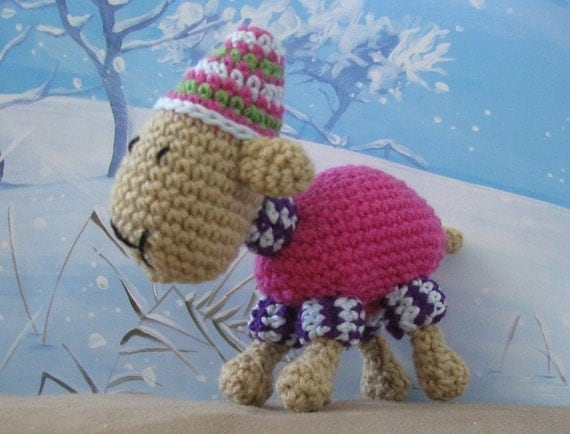 Google Crochet Pattern Central : Items similar to Cosy Sheep toy crochet pattern. PDF. 8 ...