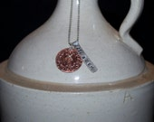 Cast Your Nets Mark 1:17 Hand Stamped Metal Necklace
