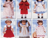 DOLL CLOTHES PATTERN fits American Girl Samantha and Molly