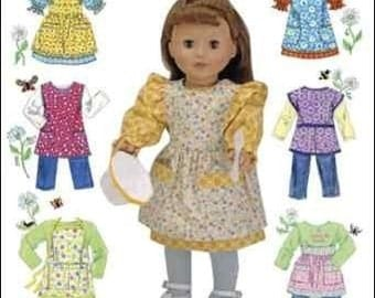 DOLL CLOTHES PATTERN /Retired / Make 30s and 40s Vintage Styles for American Girl Molly and Kit