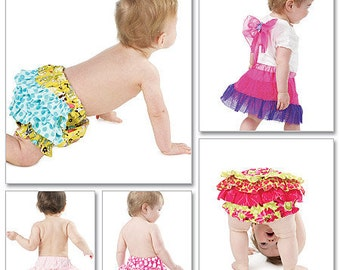 DIAPER COVER  PATTERN  / Fancy Diaper Covers for Baby Girls