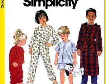 SALE PAJAMAS PATTERN / Toddler and Kids Pajamas - PJs - Robe - Sleeper In Sizes 1/2 To 2