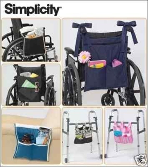 Walker Organizer Pattern Also For Wheelchair Chair Arms Or