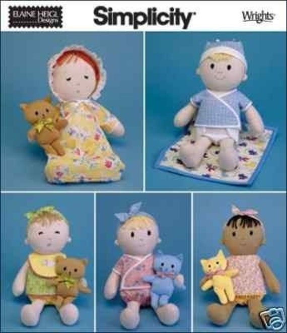 Baby First Cloth Doll Sewing Pattern Sew A By Whatcamefirst