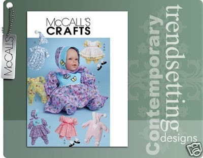 American Girl Doll Knitting Patterns-Bitty Baby Layette Set