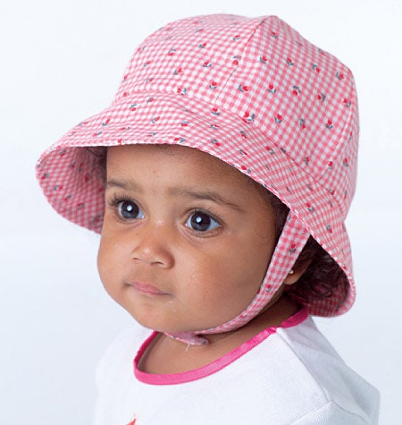Baby Hat Pattern Infant Girl Bonnets In Eight Styles And