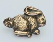 Bunny Button - Bronze