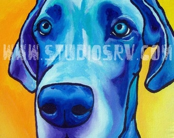 Great Dane 12x12 PRINT