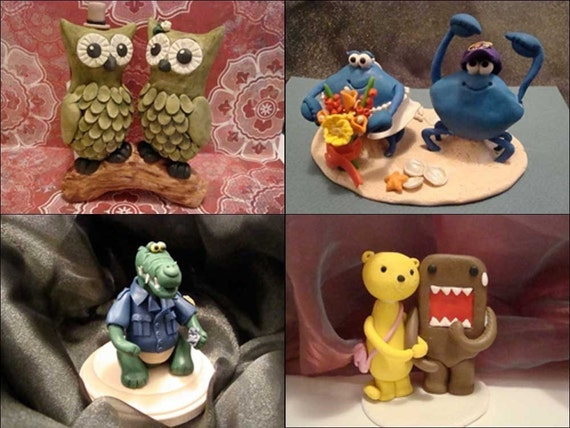 custom made animal cake topper for any occasion