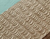 Abstract Painting - 16X20 Textured Canvas - Scalloped Waves in the Sand