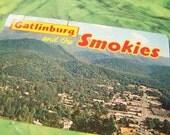 1970 Gatlinburg and the Smokies postcard