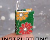 Miniature Book Charm Instruction - PDF File
