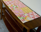 1/2 off Sunny Blocks Quilted Table Runner