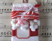 Vintage Trim Crafting Collection - Peppermint Kisses