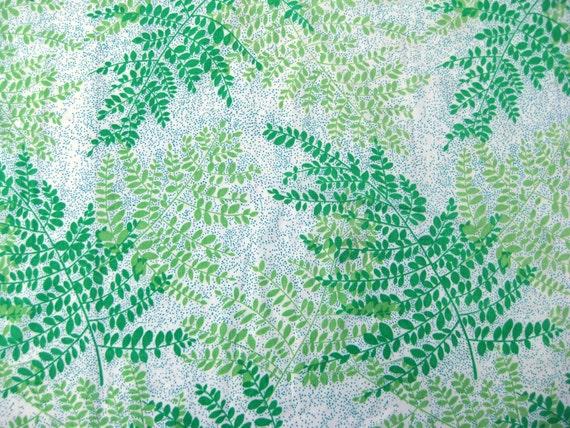 Vintage Fabric Fat Quarter - Forest Ferns