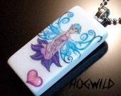 Fairy Heart Domino Tile Pendant